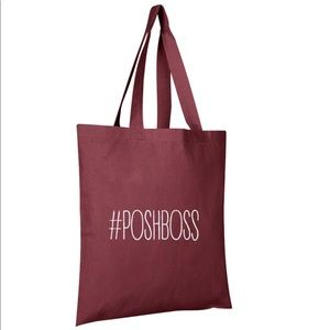 Handbags - #PoshBoss Cotton Tote Bag
